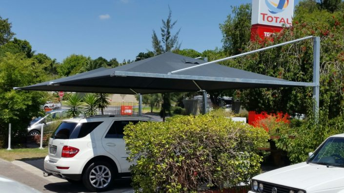 Total Service Station shade ports