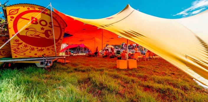 Bos hospitality stretch tent