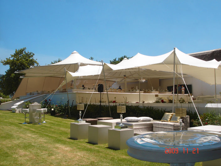 Constantia restaurant stretch tent