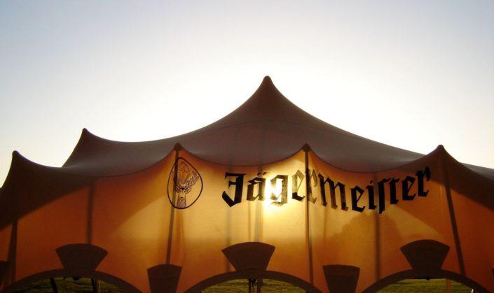 Jagermeister waterproof stretch tent