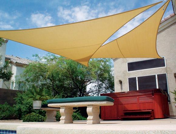 Triangle shade sail