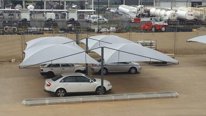 Volvo Jet Park shade ports